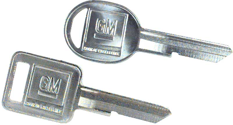 Metal Car Key